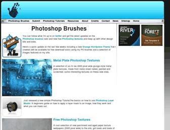 Thumbshot of Photoshopbrushes.com