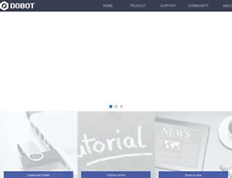 dobot.cc screenshot