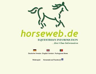 Fullscreen thumbnail of horseweb.de