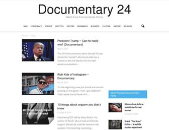 Thumbshot of Documentary24.com