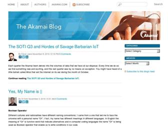blogs.akamai.com screenshot