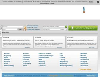 Main page screenshot of european-business-connect.de