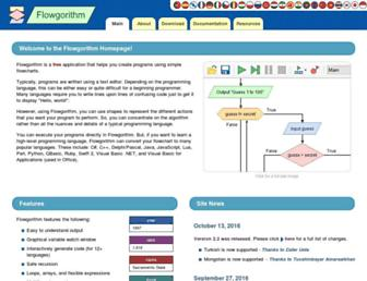 flowgorithm.org screenshot
