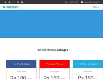 boostmedia.in screenshot