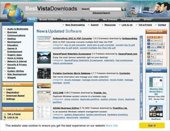Thumbshot of Bestvistadownloads.com