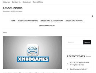 xmodgamess.org screenshot