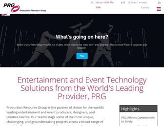 prg.com screenshot