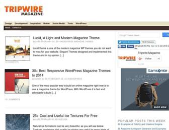 Thumbshot of Tripwiremagazine.com