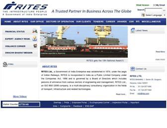 rites.com screenshot