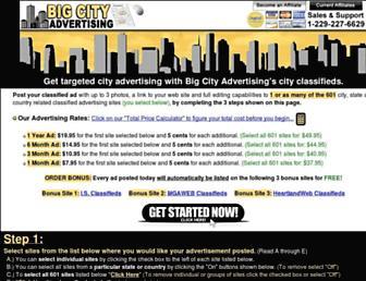 Thumbshot of Bigcityadvertising.com