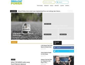 smallcappower.com screenshot