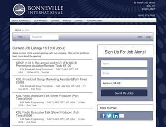 ksl.applicantpro.com screenshot