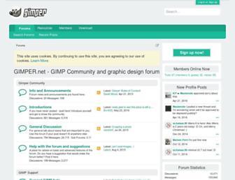 gimper.net screenshot