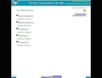 results.kerala.nic.in screenshot