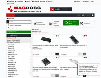 magboss.eu screenshot
