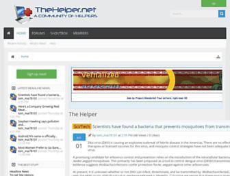 thehelper.net screenshot