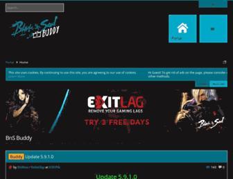 bnsbuddy.com screenshot