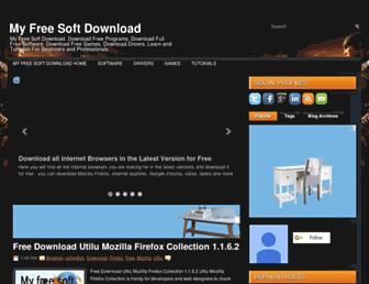 myfreesoftdownload.blogspot.com screenshot