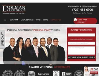 dolmanlaw.com screenshot