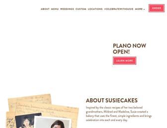 susiecakes.com screenshot