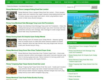 resepdanmasakan.com screenshot