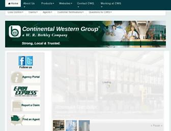 cwgins.com screenshot
