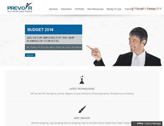 Thumbshot of Prevoirinfotech.com