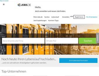 jobs.de screenshot