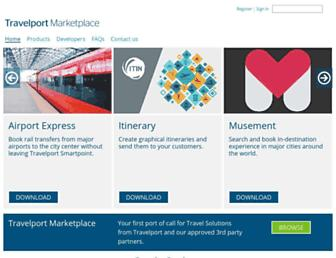 travelportmarketplace.com screenshot