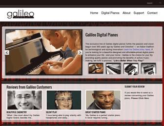 galileopianos.com screenshot