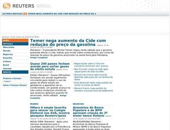 br.reuters.com screenshot