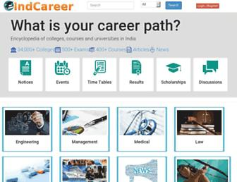indcareer.com screenshot