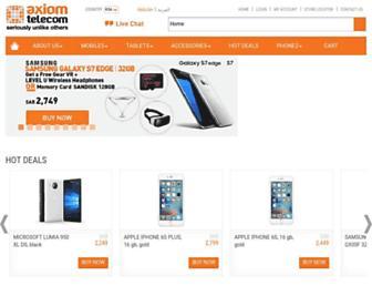 ksa.axiomtelecom.com screenshot