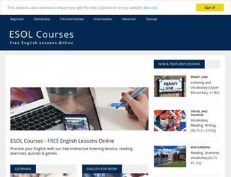 Thumbshot of Esolcourses.com