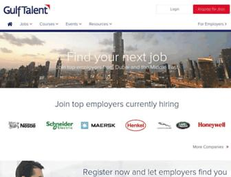 Thumbshot of Gulftalent.com