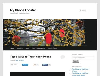 myphonelocater.com screenshot