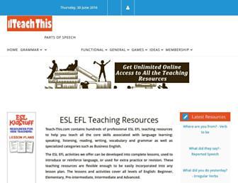 teach-this.com screenshot