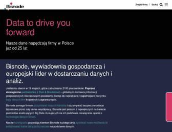 bisnode.pl screenshot