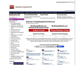 Thumbshot of Newdesignworld.com