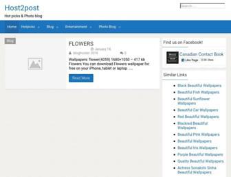 Thumbshot of Host2post.com