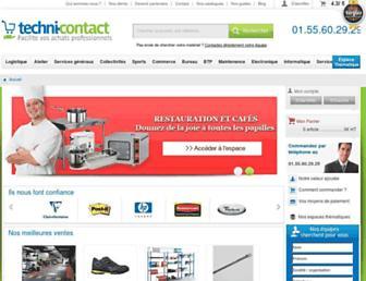 techni-contact.com screenshot