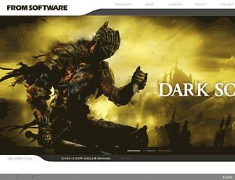 Thumbshot of Fromsoftware.jp
