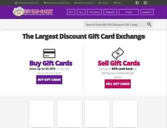 Thumbshot of Giftcardgranny.com