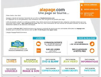 Thumbshot of Alapage.com