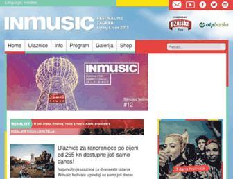 inmusicfestival.com screenshot