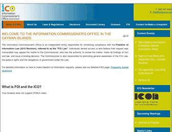 infocomm.ky screenshot