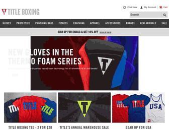 titleboxing.com screenshot