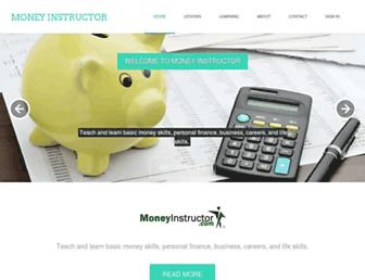 Thumbshot of Moneyinstructor.com