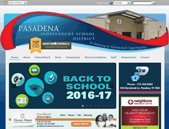 Thumbshot of Pasadenaisd.org