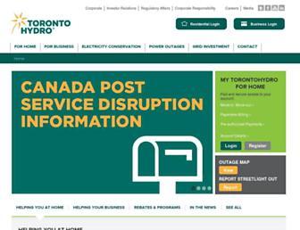 Thumbshot of Torontohydro.com